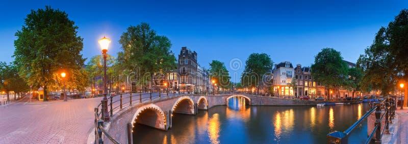 阿姆斯特丹,荷兰的反射 库存图片