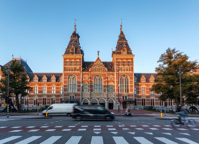 阿姆斯特丹Rijks博物馆荷兰 库存照片