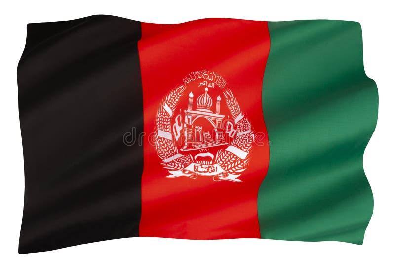 阿富汗国旗 免版税库存图片