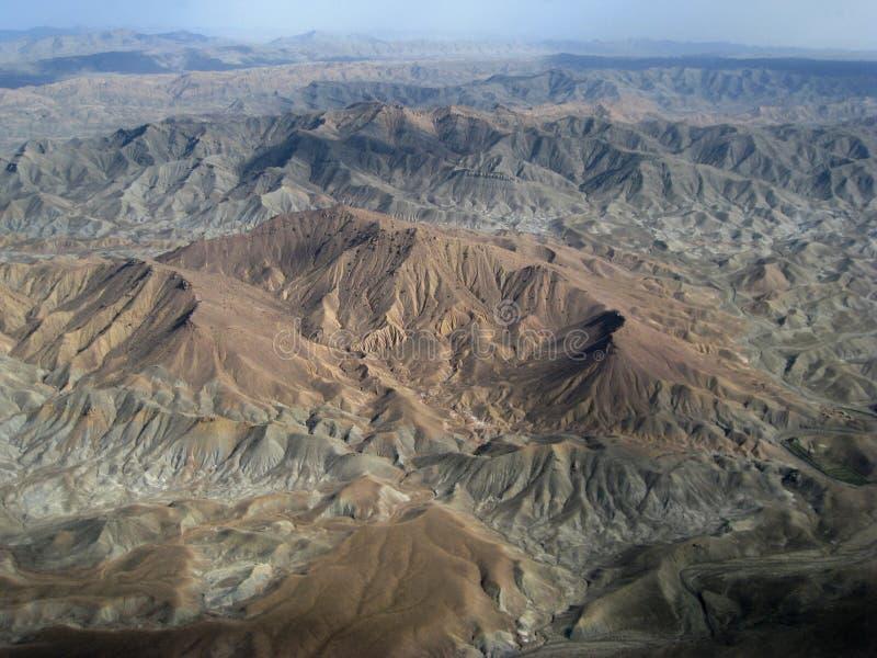 阿富汗贫瘠山 免版税库存照片