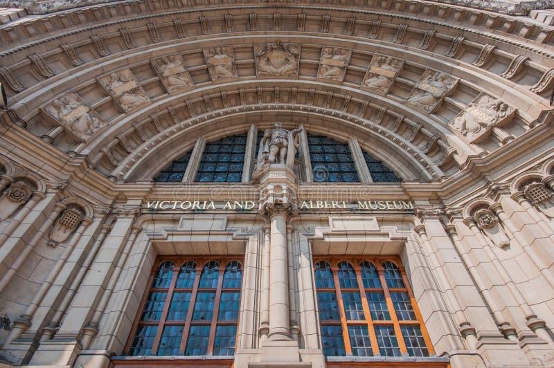 阿尔伯特博物馆维多利亚 免版税库存图片
