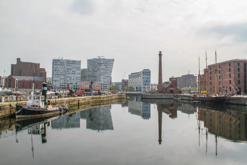 阿尔伯特码头利物浦 免版税库存照片