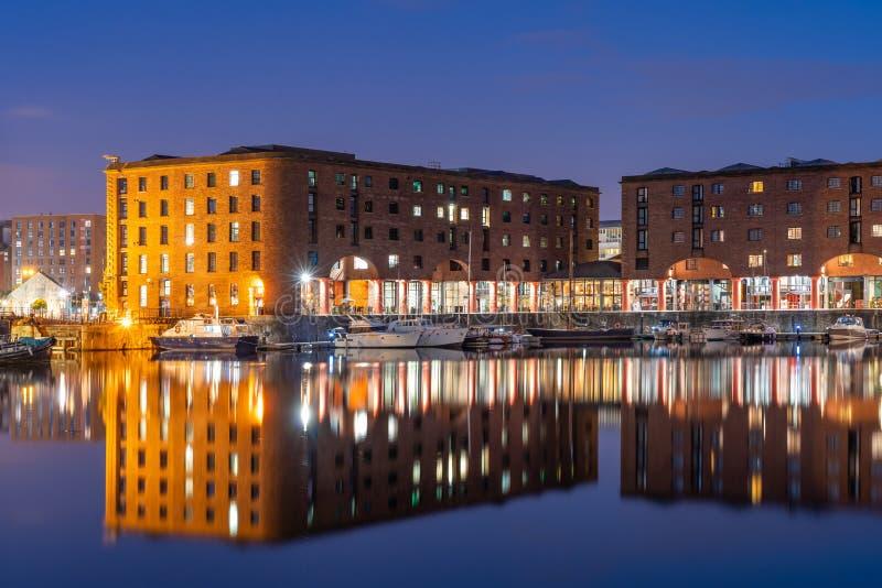 阿尔伯特船坞利物浦英国 免版税库存照片