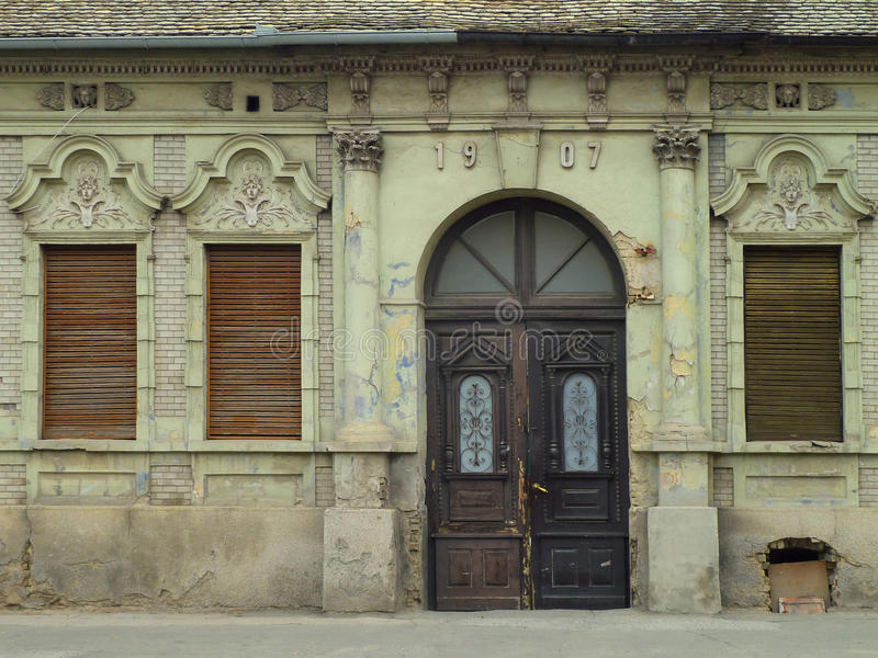 阿尔伯特・爱因斯坦居住的议院 库存图片