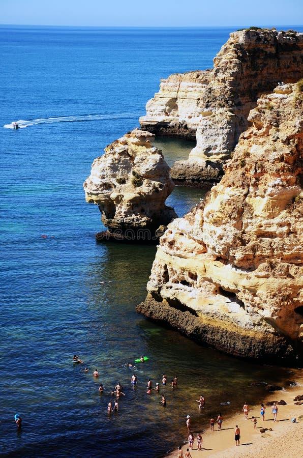 阿尔加威,葡萄牙2016年 免版税图库摄影
