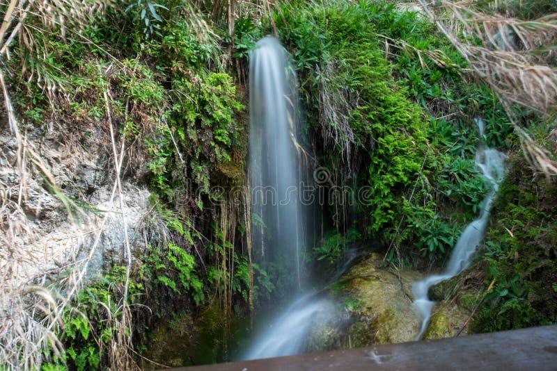 阿尔加秋天 地区阿利坎特 西班牙 免版税库存照片