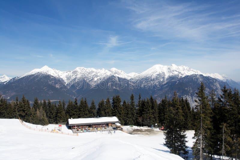 阿尔卑斯奥地利 免版税库存图片