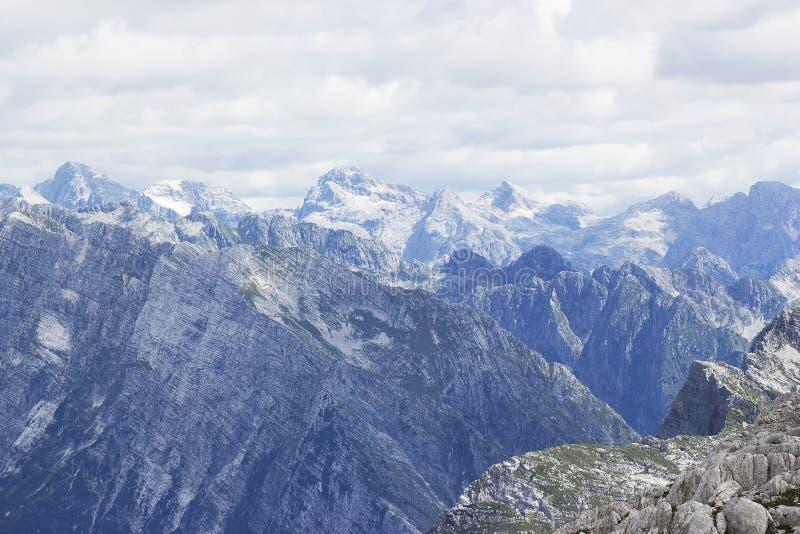 阿尔卑斯朱利安夏天 库存图片