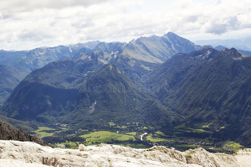 阿尔卑斯朱利安斯洛文尼亚 库存照片
