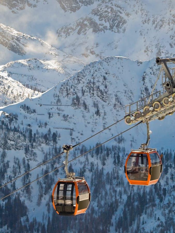 阿尔卑斯欧洲extreeme体育运动 免版税库存照片