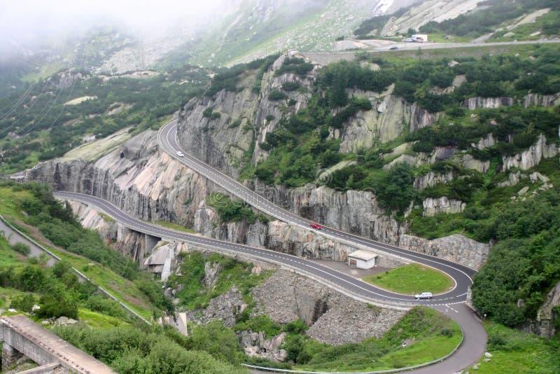 阿尔卑斯路蛇纹石 免版税库存图片