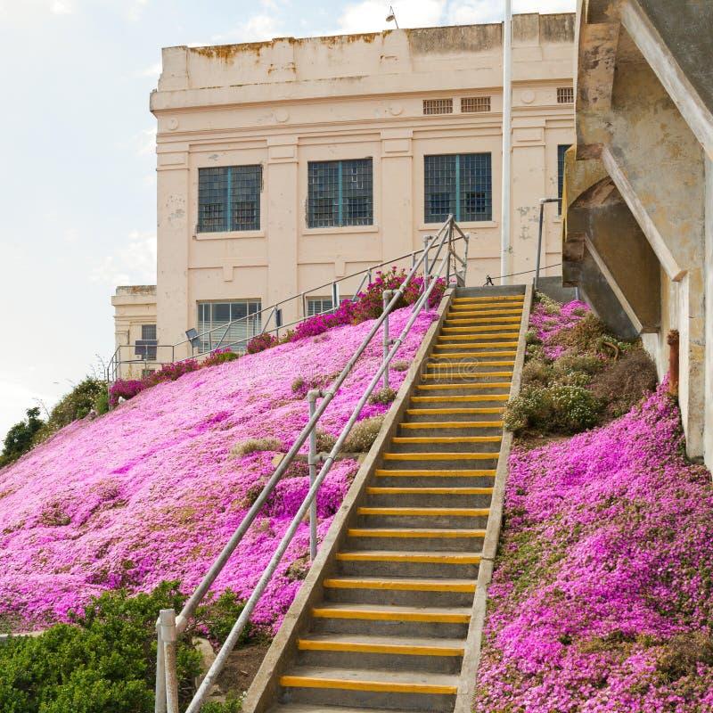 阿尔卡特拉斯岛监狱,旧金山 免版税图库摄影