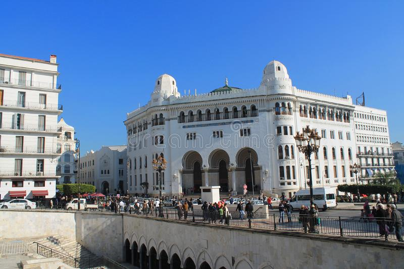 阿尔及尔,阿尔及利亚首都 图库摄影