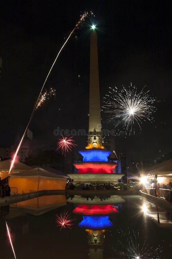 阿尔塔米拉广场阿尔塔米拉加拉加斯委内瑞拉 免版税库存图片