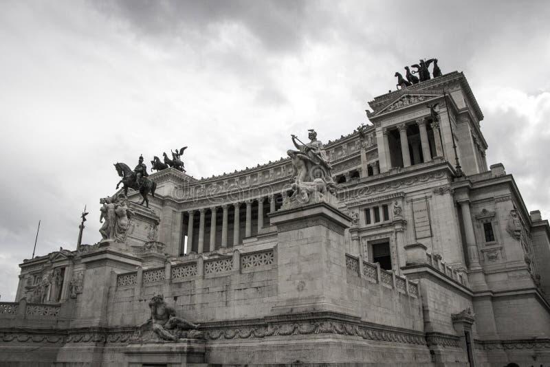 阿尔塔雷della Patria,罗马 免版税库存照片