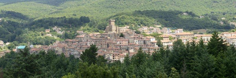 阿尔奇多索(托斯卡纳,意大利) 免版税图库摄影