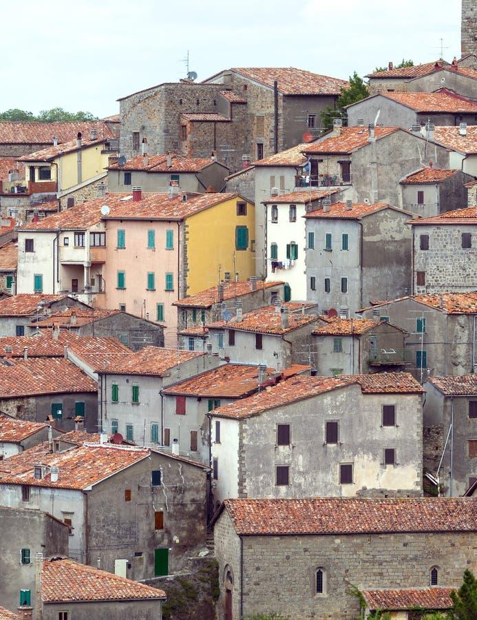 阿尔奇多索(托斯卡纳,意大利) 免版税库存照片