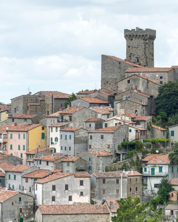阿尔奇多索(托斯卡纳,意大利) 免版税库存图片