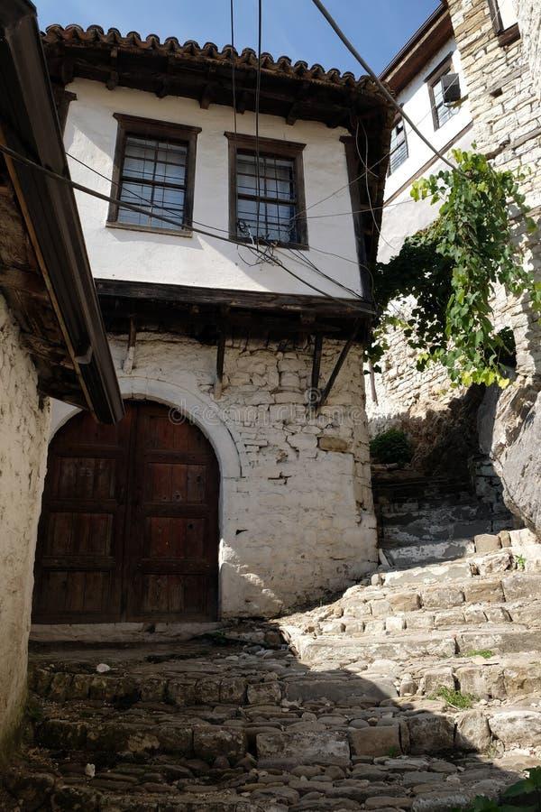 阿尔巴尼亚berat 库存照片