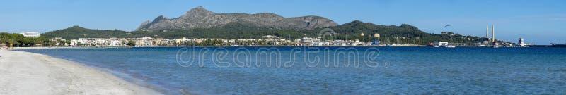 阿尔库迪亚港海滩 库存照片