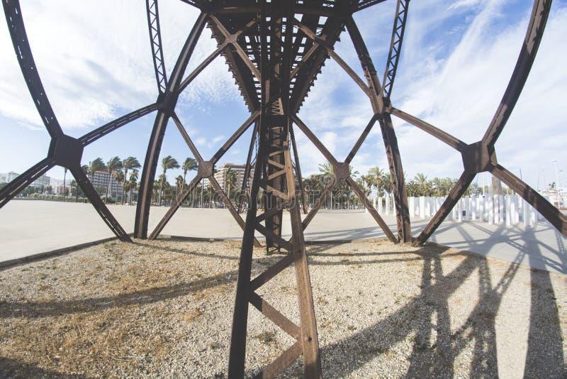 阿尔梅里雅结构  库存照片