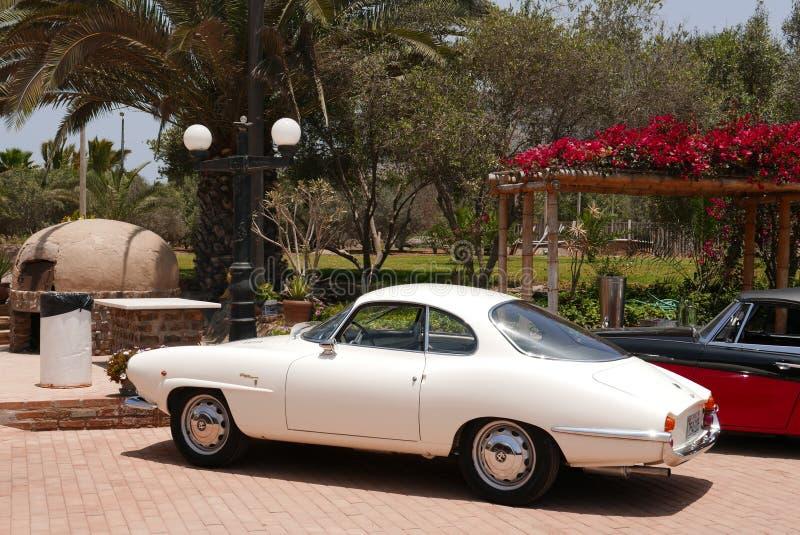 阿尔法・罗密欧Giulietta Sprint Speciale小轿车在利马 库存图片