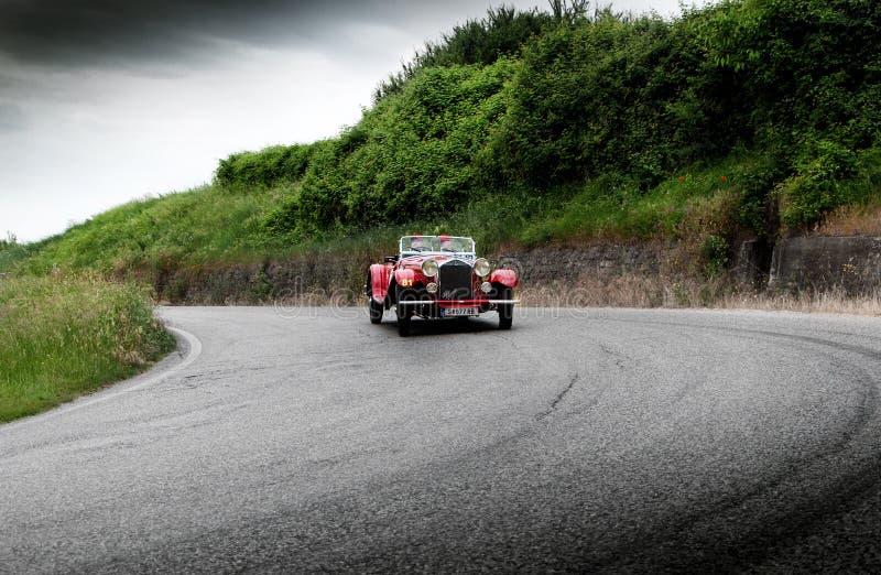 阿尔法・罗密欧6C 1750 GT 1932年 免版税库存图片
