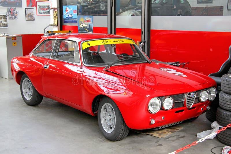 阿尔法・罗密欧1750 GT Veloce 免版税库存图片