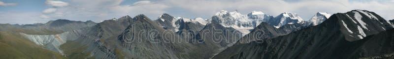阿尔泰山的别卢哈山,俄罗斯 免版税图库摄影