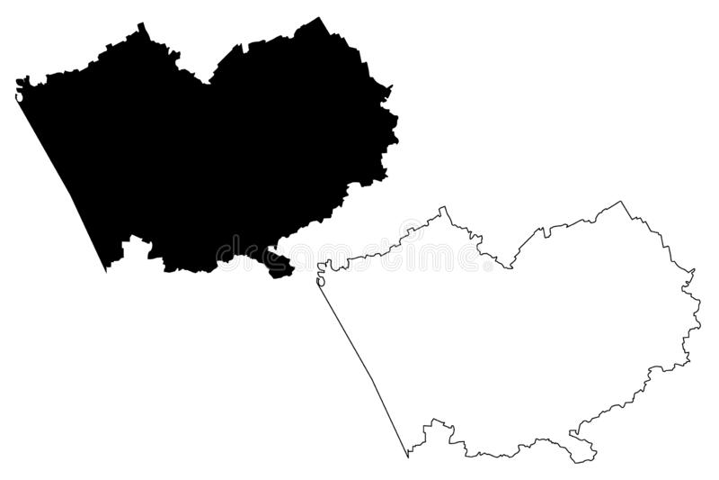 阿尔泰边疆区地图传染媒介 皇族释放例证