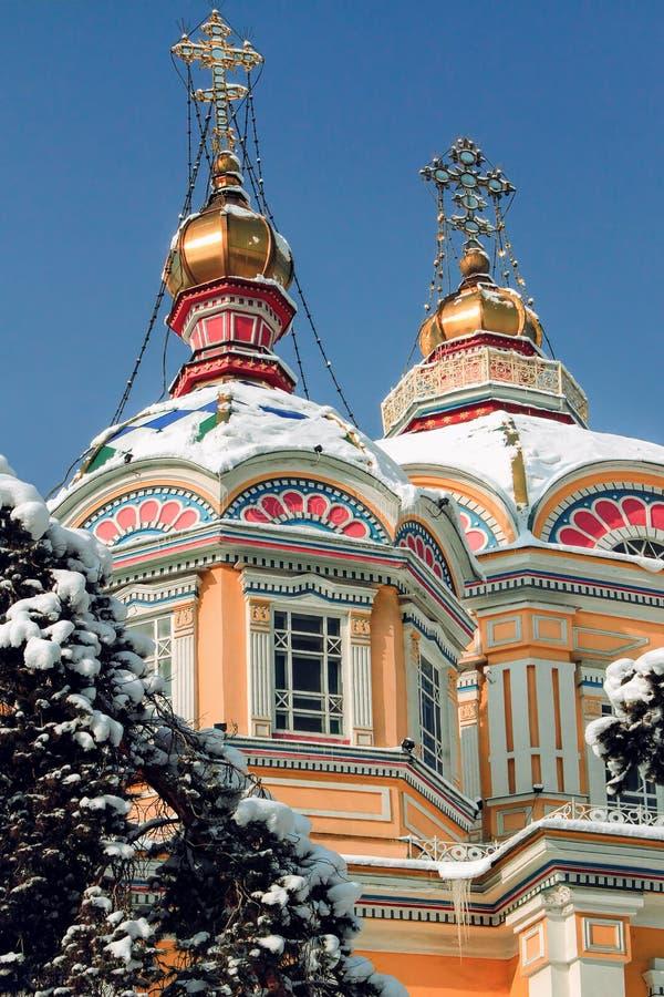 阿尔玛蒂,哈萨克斯坦 库存图片