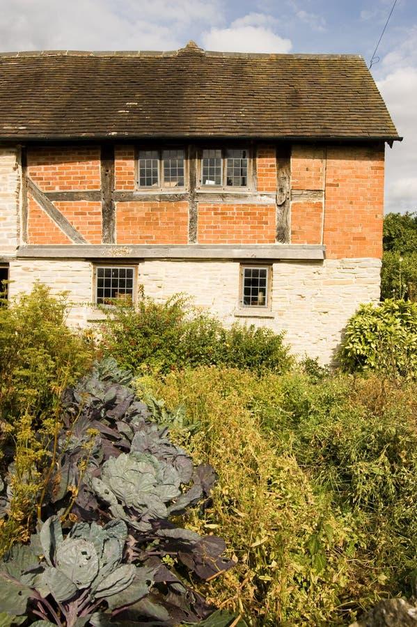 阿尔登庭院房子厨房玛丽s 免版税库存照片