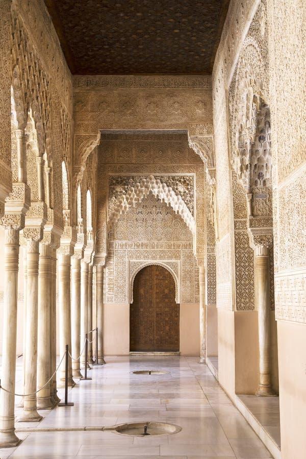 阿尔罕布拉宫殿 免版税库存照片