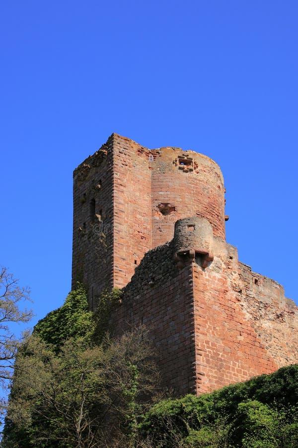 阿尔萨斯城堡 库存图片