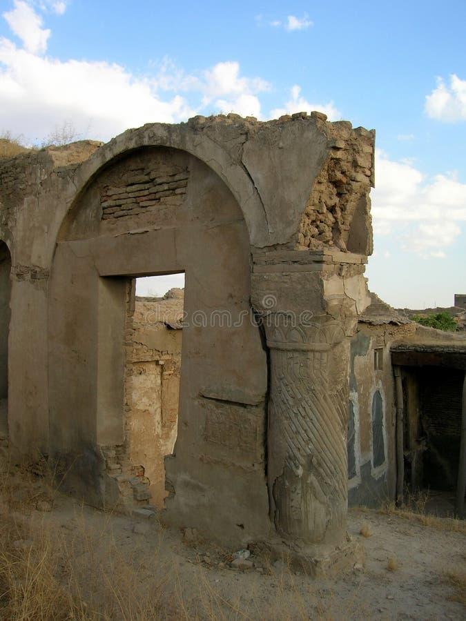 阿尔贝拉,伊拉克城堡  库存图片