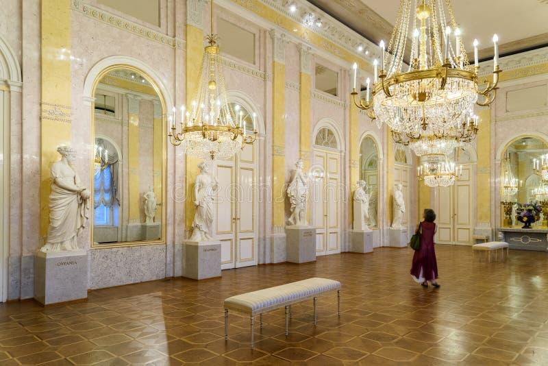 阿尔贝蒂娜博物馆博物馆在维也纳 图库摄影
