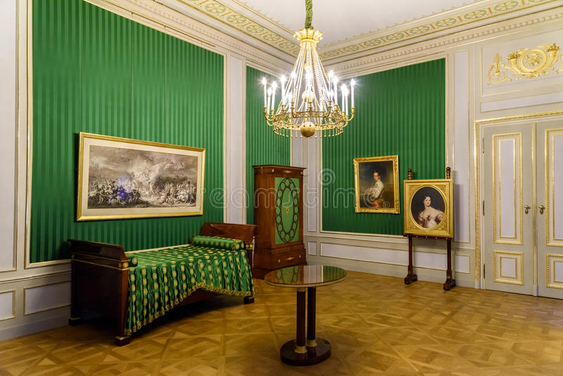 阿尔贝蒂娜博物馆博物馆在维也纳 库存照片
