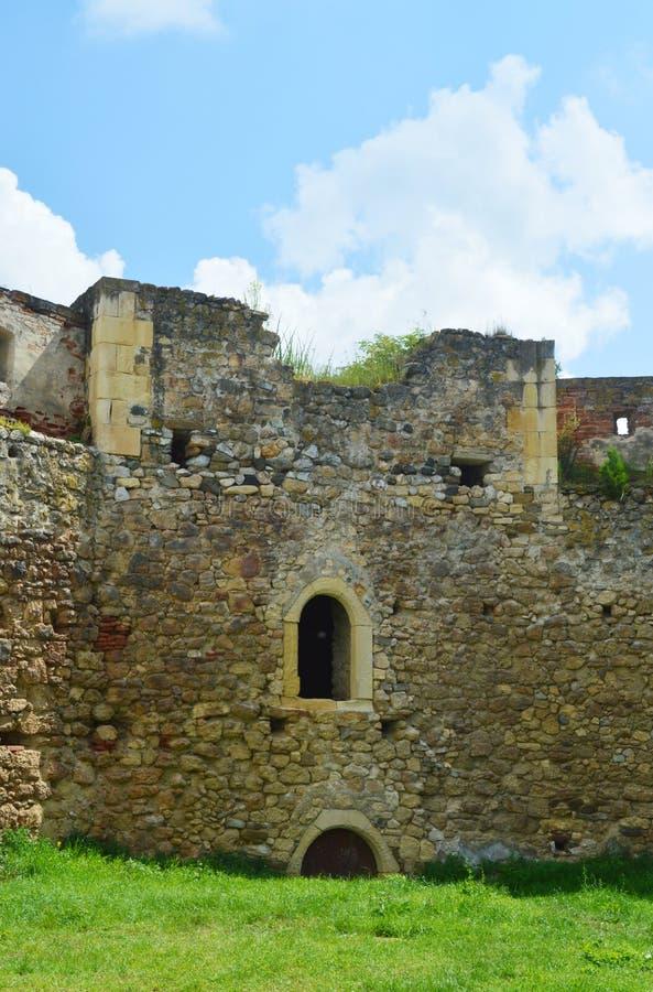 阿尤德,罗马尼亚堡垒  免版税库存照片