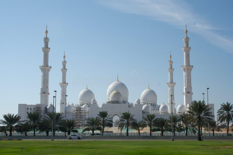 阿布扎比全部清真寺 库存照片
