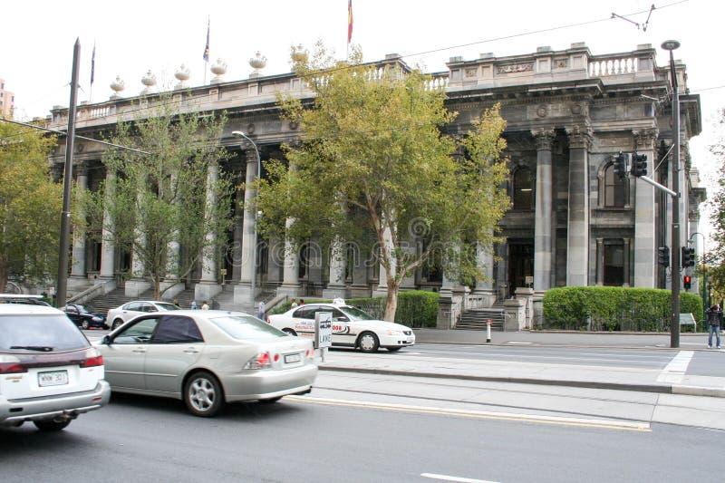 阿德莱德、城市大厦、公园和纪念碑 免版税库存照片