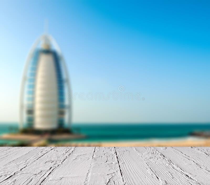 阿拉伯人的豪华旅馆Burj Al阿拉伯塔 免版税图库摄影