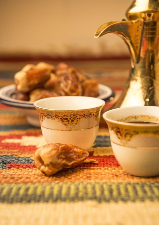 阿拉伯咖啡 库存图片