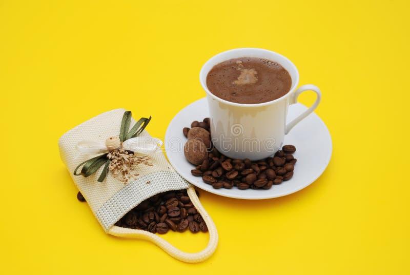 阿拉伯咖啡 免版税库存照片