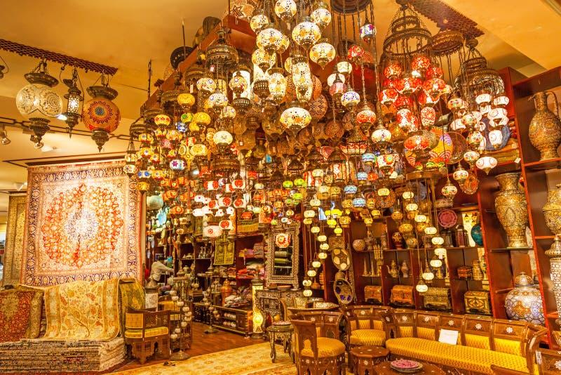 阿拉伯商店在迪拜 库存图片