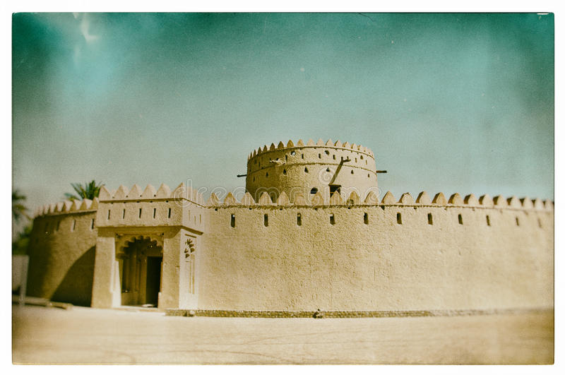 阿拉伯堡垒 库存照片