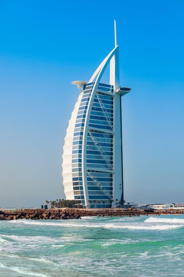 阿拉伯塔豪华旅馆,迪拜 库存图片