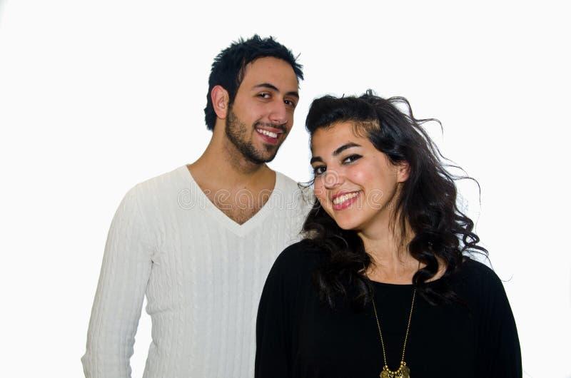 阿拉伯夫妇 免版税图库摄影