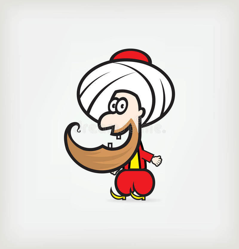 阿拉伯字符 免版税库存图片
