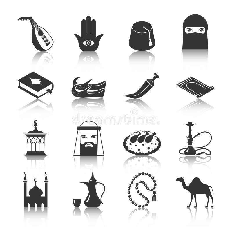 阿拉伯文化象 向量例证