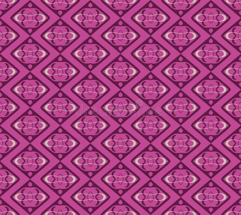 阿拉伯无缝的装饰品样式 装饰装饰样式背景 皇族释放例证